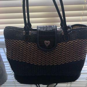 Brighton Straw Handbag